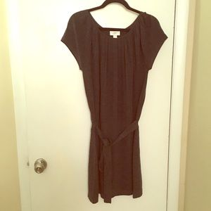 LOFT Charcoal Grey Dress